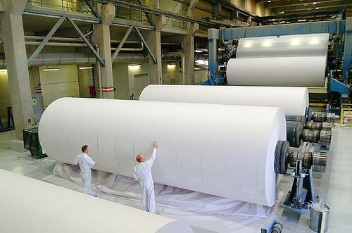 Papierproductie